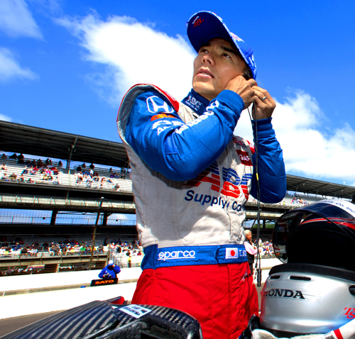 Sato 1st Japanese to win famed Indy 500 race