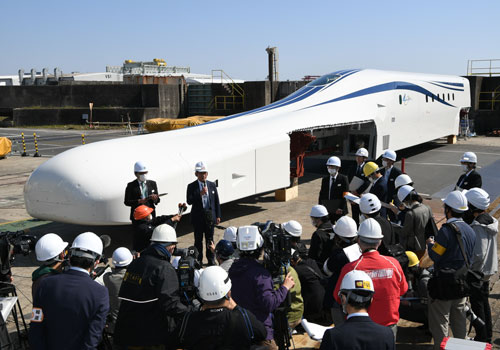 New maglev train car nearing testing phase