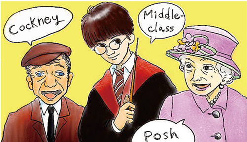 Dialects of the UK: Posh, Potter and Jason Statham