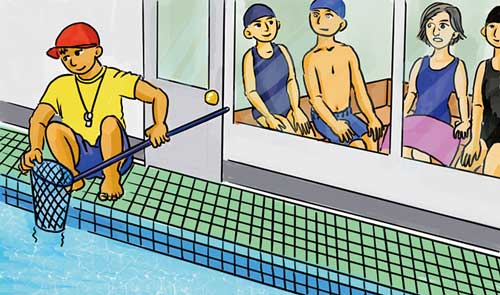 Getting used to new rules when swimming in Japan's pools
