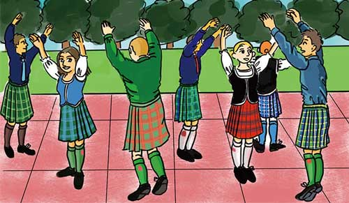The chapter in which I share Scottish dancing secrets